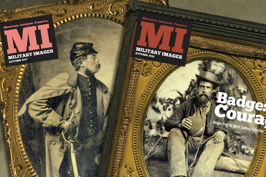 Military Images covers for Rich Jahn and Kevin Canberg